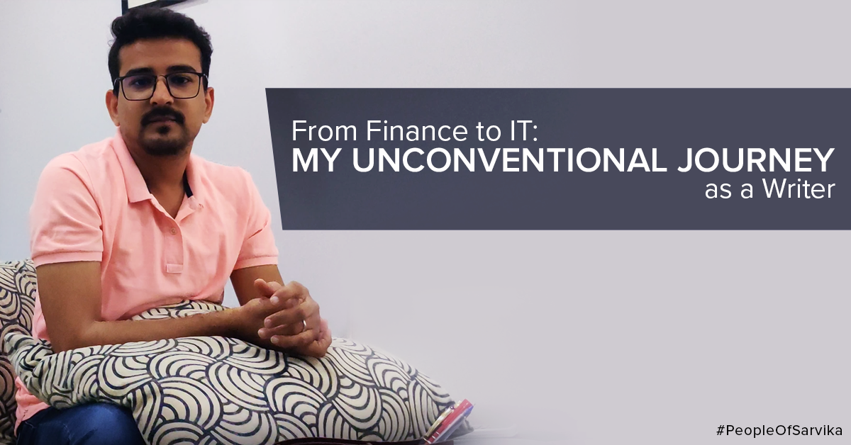 From Finance to IT My Unconventional Journey as a Writer