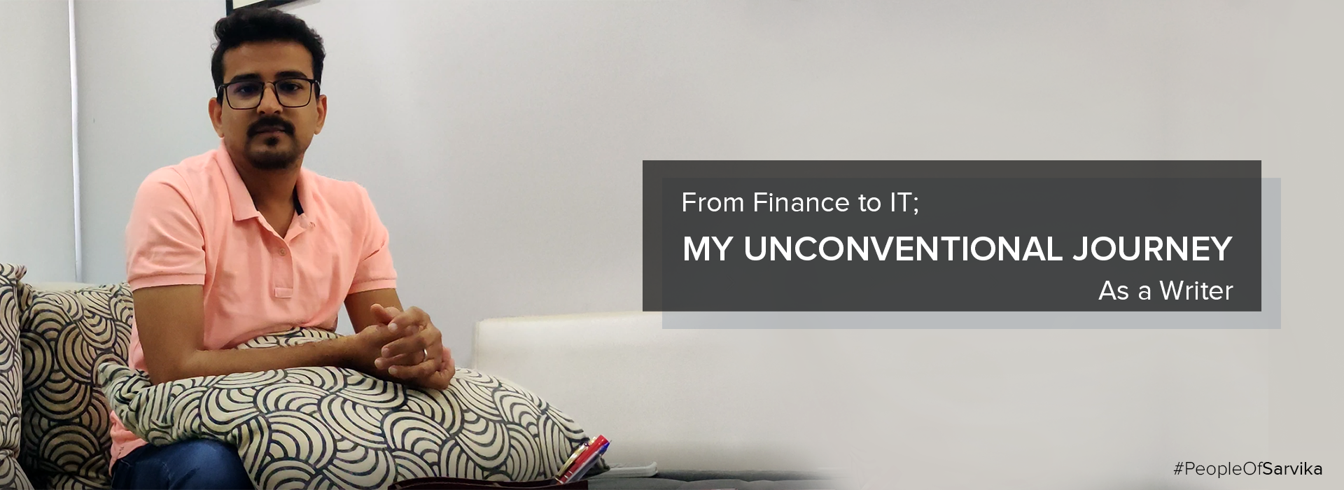 From Finance to IT My Unconventional Journey as a writer _Mayur Ghiya_Featured Image