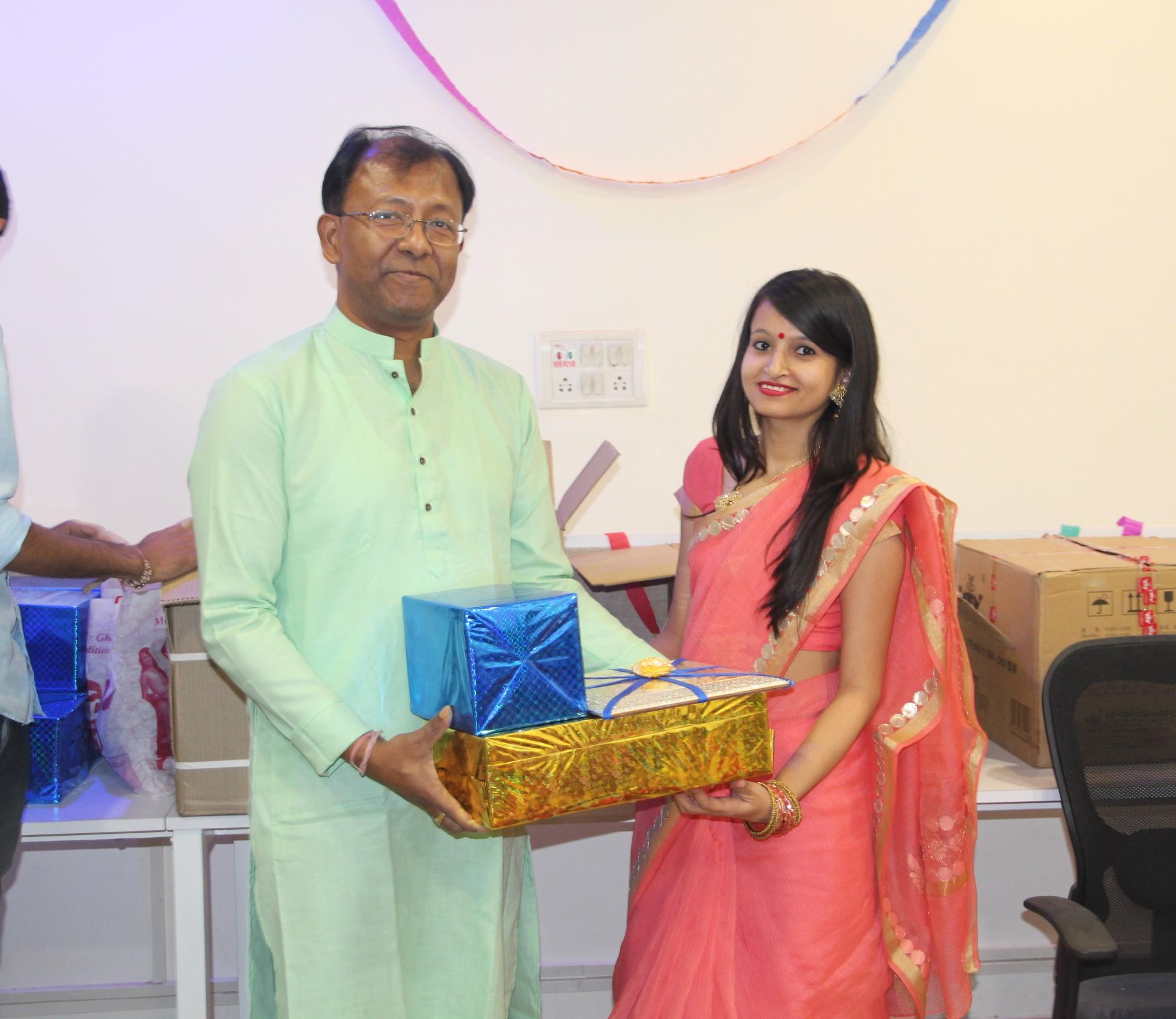 Santanu Das at Sarvika Technologies