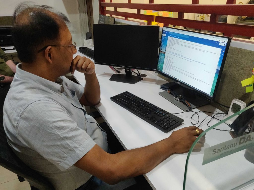 Shantanu Das - Database Administrator at Sarvika Technoogies 1