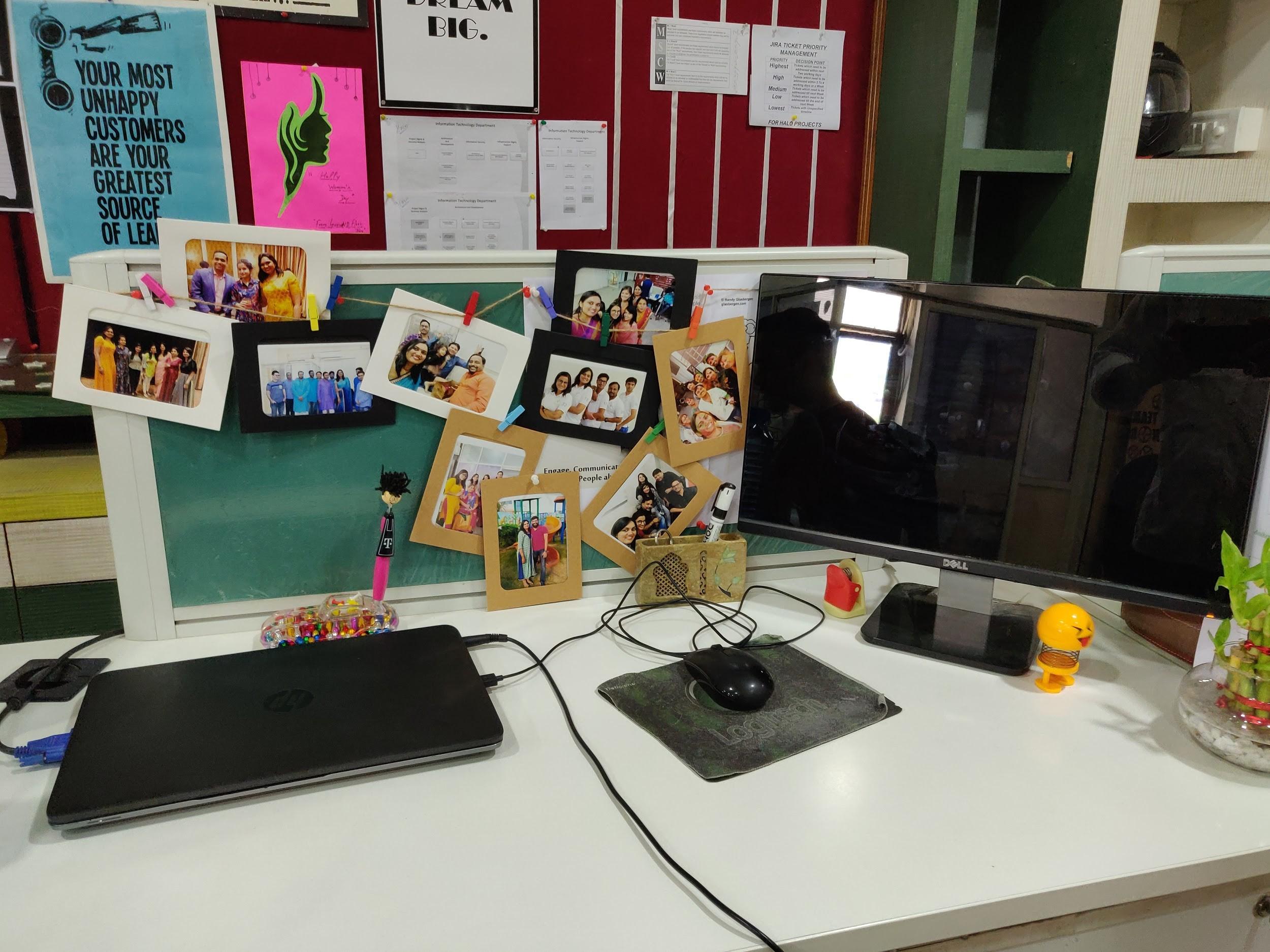 Saumya Agarwal workspace