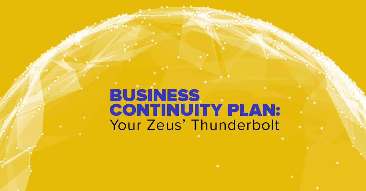Business Continuity Plan Your Zeus' Thunderbolt Featured Image