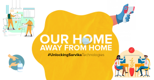 Our home away from home.   #UnlockingSarvikaTechnologies