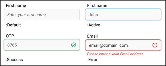 Data forms - feedback